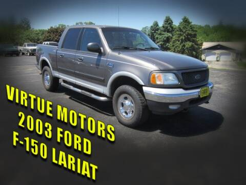 2003 Ford F-150 for sale at Virtue Motors in Darlington WI