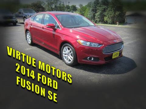 2014 Ford Fusion for sale at Virtue Motors in Darlington WI