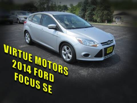 2014 Ford Focus for sale at Virtue Motors in Darlington WI