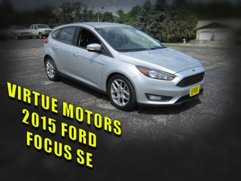 2015 Ford Focus for sale at Virtue Motors in Darlington WI