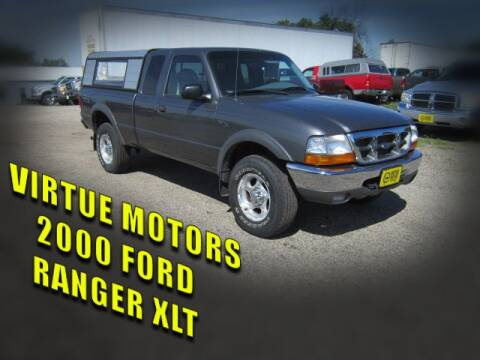 2000 Ford Ranger for sale at Virtue Motors in Darlington WI