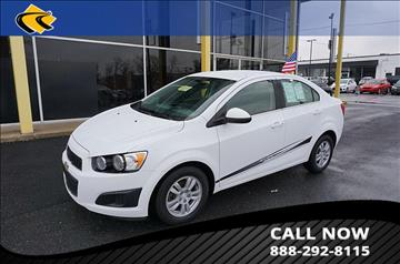 2016 Chevrolet Sonic for sale in Temple Hills, MD