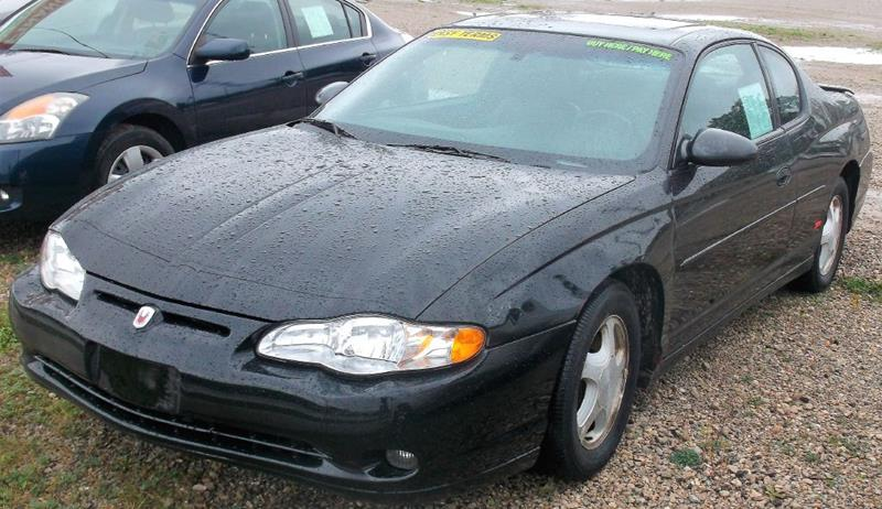 2004 Chevrolet Monte Carlo For Sale At We Finance Inc In Green Bay WI