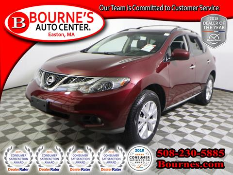 2011 Nissan Murano for sale in South Easton, MA