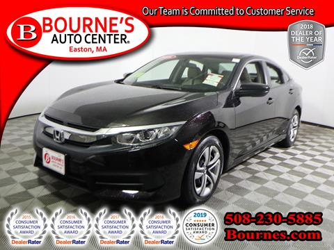 2016 Honda Civic for sale in South Easton, MA