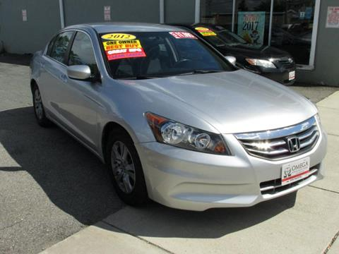 2012 Honda Accord for sale at Omega Auto & Truck CTR INC in Salem MA