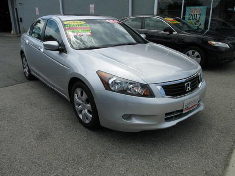 2009 Honda Accord for sale at Omega Auto & Truck CTR INC in Salem MA