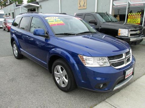 2012 Dodge Journey for sale at Omega Auto & Truck CTR INC in Salem MA