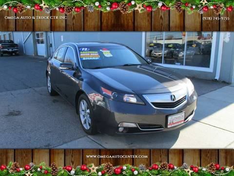 2012 Acura TL for sale in Salem, MA