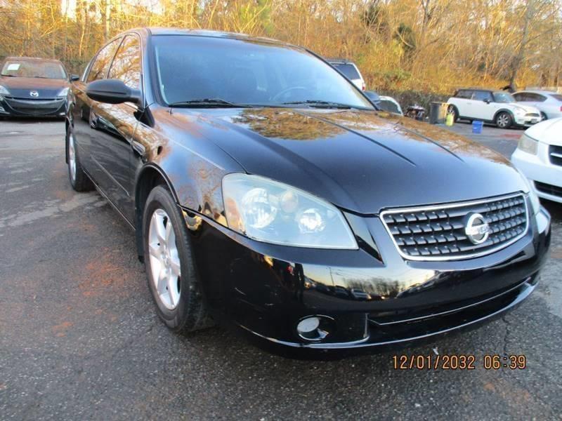 2006 nissan altima 2 5 sl 4dr sedan in cumming ga select luxury motors. Black Bedroom Furniture Sets. Home Design Ideas