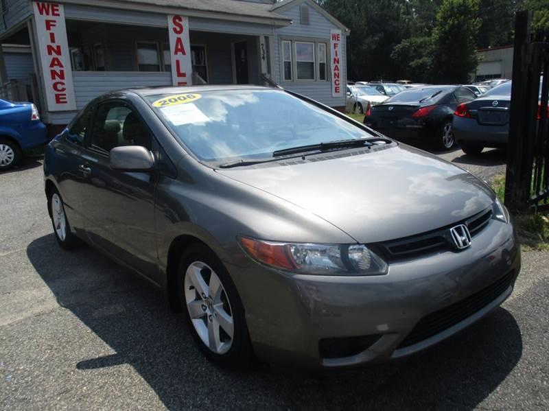2006 Honda Civic EX 2dr Coupe W Automatic