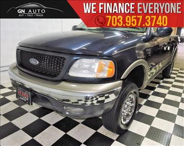 2002 Ford F-150 for sale in Chantilly, VA
