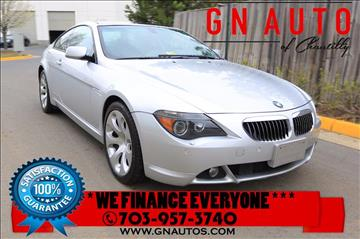 2005 BMW 6 Series for sale in Chantilly, VA