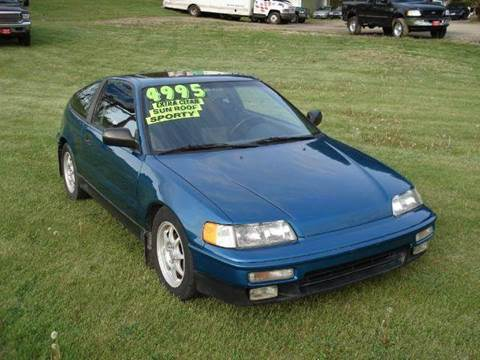 1991 Honda CRX for sale at ARP in Waukesha WI