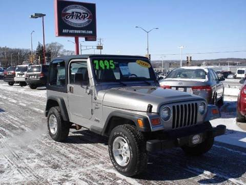 2000 Jeep Wrangler for sale at ARP in Waukesha WI