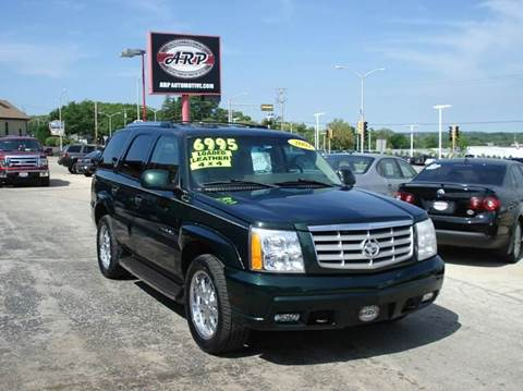 2002 Cadillac Escalade for sale at ARP in Waukesha WI