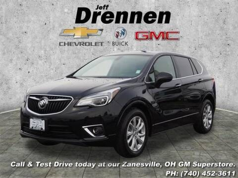 2019 Buick Envision for sale at Jeff Drennen GM Superstore in Zanesville OH