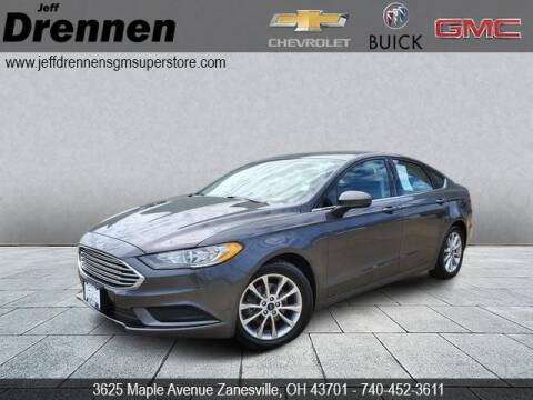 2017 Ford Fusion for sale at Jeff Drennen GM Superstore in Zanesville OH