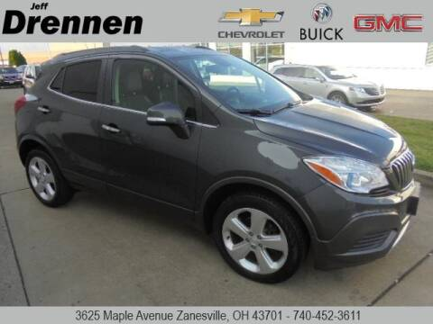 2016 Buick Encore for sale at Jeff Drennen GM Superstore in Zanesville OH