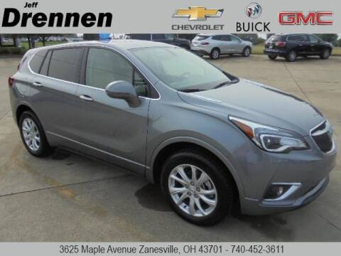 2020 Buick Envision for sale at Jeff Drennen GM Superstore in Zanesville OH