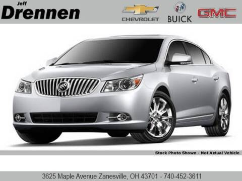 2010 Buick LaCrosse for sale at Jeff Drennen GM Superstore in Zanesville OH