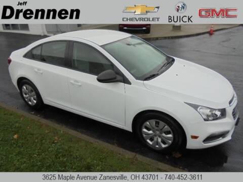 2015 Chevrolet Cruze for sale at Jeff Drennen GM Superstore in Zanesville OH