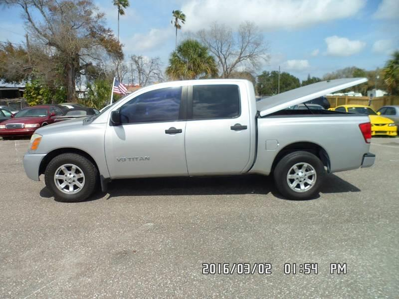 2007 Nissan Titan for sale at Fett Motors INC in Pinellas Park FL