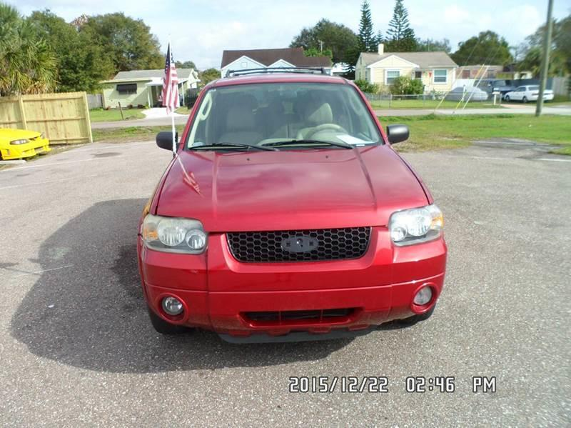 2005 Ford Escape for sale at Fett Motors INC in Pinellas Park FL
