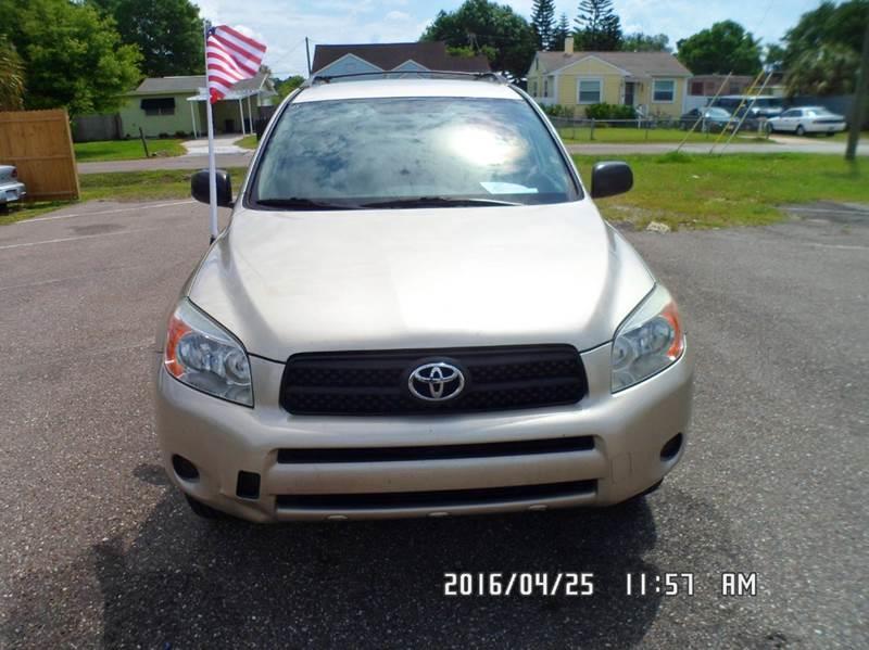 2008 Toyota RAV4 for sale at Fett Motors INC in Pinellas Park FL