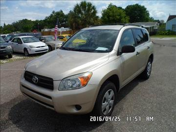 2008 Toyota RAV4 for sale at Fett Motors INC in Pinellas Park FL
