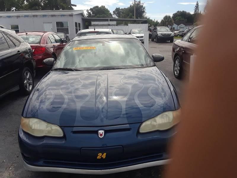 2003 Chevrolet Monte Carlo For Sale At Fett Motors INC In Pinellas Park FL