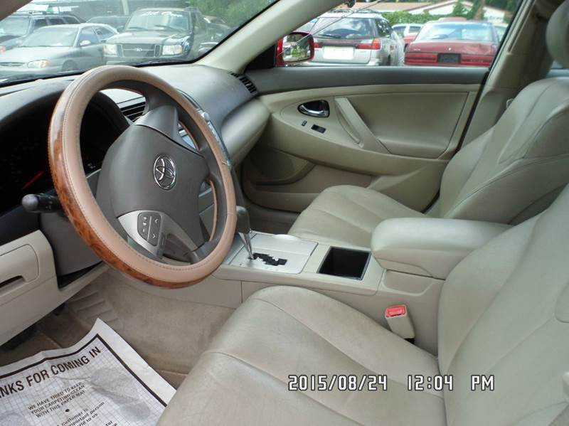 2007 Toyota Camry for sale at Fett Motors INC in Pinellas Park FL