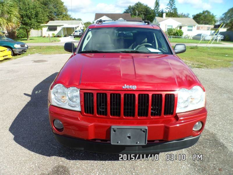 2006 Jeep Grand Cherokee for sale at Fett Motors INC in Pinellas Park FL