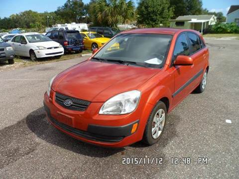 2008 Kia Rio5 for sale at Fett Motors INC in Pinellas Park FL