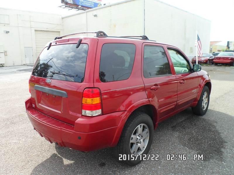 2005 Ford Escape for sale at Fett Motors INC in Pinellas Park FL