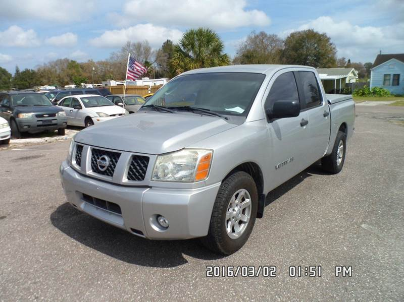 2007 Nissan Titan for sale at Fett Motors INC in Pinellas Park FL