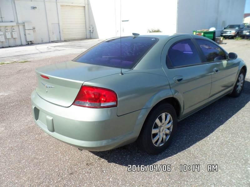 2006 Chrysler Sebring for sale at Fett Motors INC in Pinellas Park FL