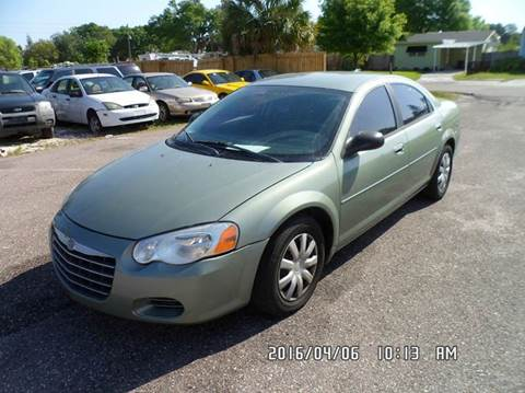 2006 Chrysler Sebring for sale at Fett Motors INC in Pinellas Park FL