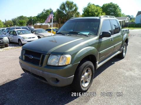 2001 Ford Explorer Sport Trac for sale at Fett Motors INC in Pinellas Park FL