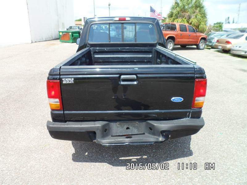 1997 Ford Ranger for sale at Fett Motors INC in Pinellas Park FL
