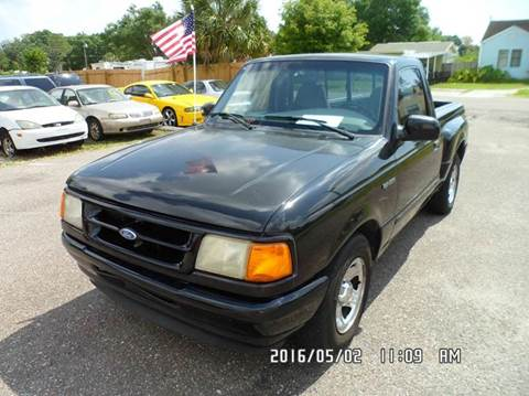 1997 Ford Ranger for sale at Fett Motors INC in Pinellas Park FL