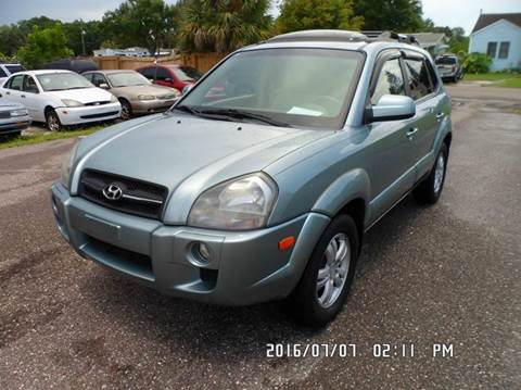 2007 Hyundai Tucson for sale at Fett Motors INC in Pinellas Park FL