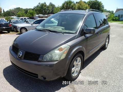 2005 Nissan Quest for sale at Fett Motors INC in Pinellas Park FL