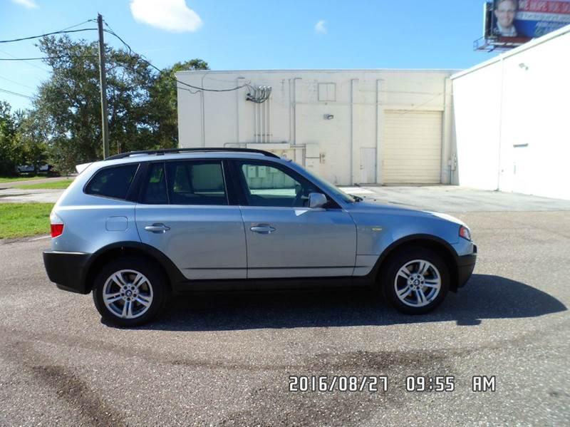 2004 BMW X3 for sale at Fett Motors INC in Pinellas Park FL