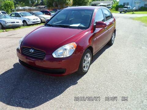 2009 Hyundai Accent for sale at Fett Motors INC in Pinellas Park FL