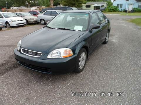 1998 Honda Civic for sale at Fett Motors INC in Pinellas Park FL