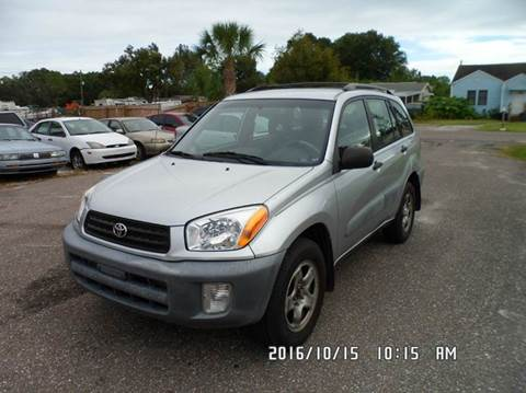 2001 Toyota RAV4 for sale at Fett Motors INC in Pinellas Park FL