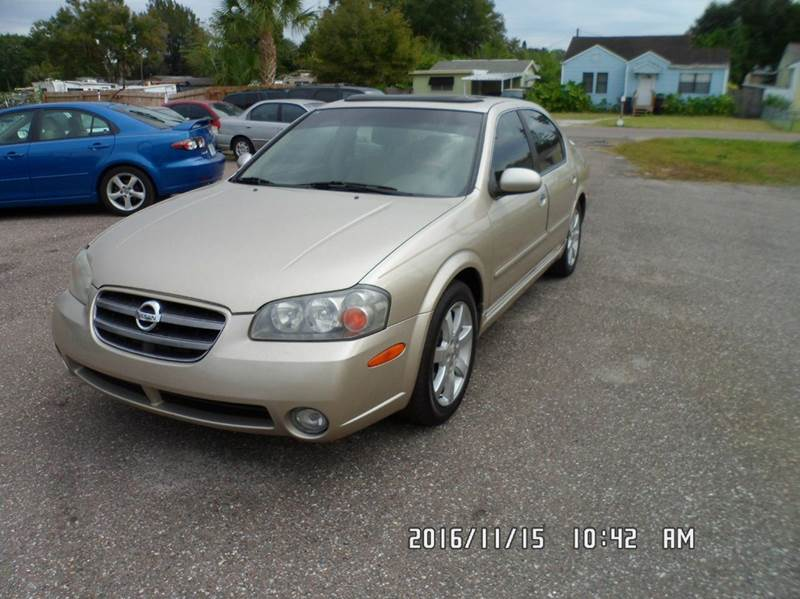 2002 Nissan Maxima for sale at Fett Motors INC in Pinellas Park FL