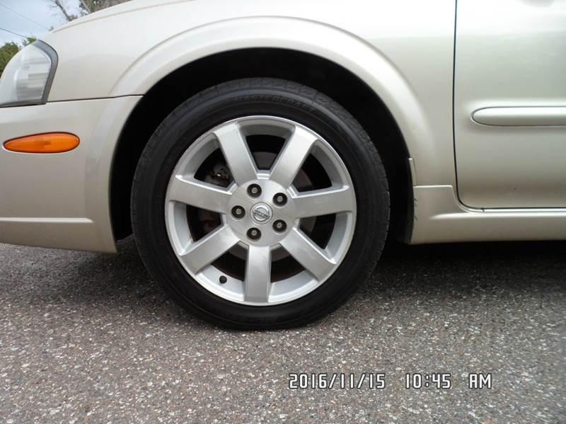 2002 Nissan Maxima for sale at Fett Motors INC in Pinellas Park FL