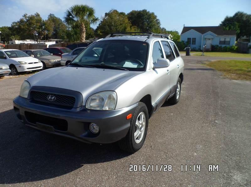 2003 Hyundai Santa Fe For Sale At Fett Motors INC In Pinellas Park FL